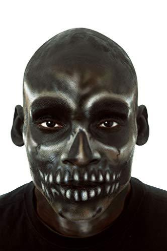 Cinema Secrets - FA18962 - Crâne chauve noir en latex - vendu seul