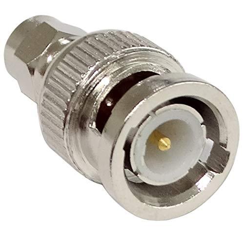 Aerzetix adapter stekker SMA stekker op BNC mannelijk C42810
