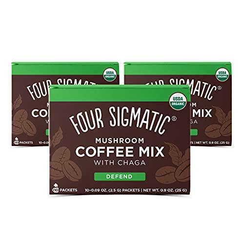 Four Sigmatic Mushroom Coffee Mix Cordyceps...