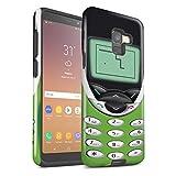 eSwish - Carcasa para teléfono móvil, diseño Retro Nokia 8210 chaux Samsung Galaxy A8 2018