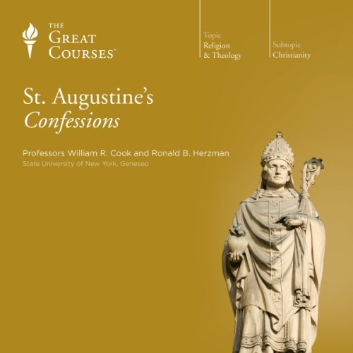 St. Augustine's Confessions audiobook cover art