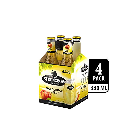 Strongbow Apple Ciders - Gold Apple 4,5% Vol. 4x330ml.