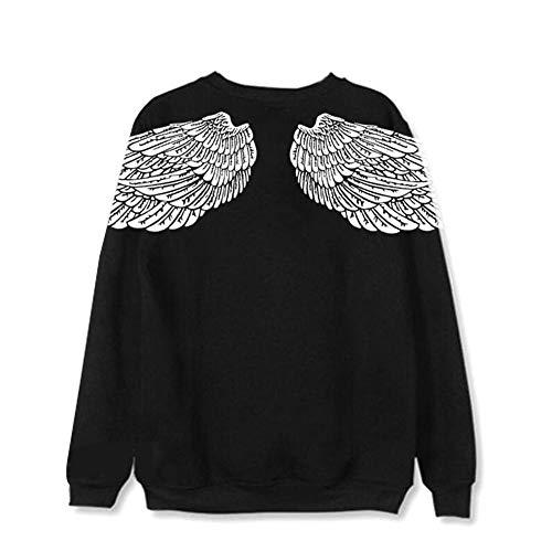 Maisley Neue Tide Pullover Weiße Flügel Sweatshirt Bangtan Boys Suga Jin Jimin Jung Kook J-Hope Rap-Monster V Fans Tops