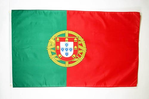 AZ FLAG Flagge Portugal 150x90cm - PORTUGIESISCHE Fahne 90 x 150 cm feiner Polyester - flaggen