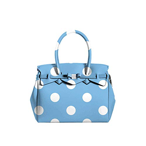 Save My Bag – Borsa a mano da donna – Miss Plus – Pois Blu