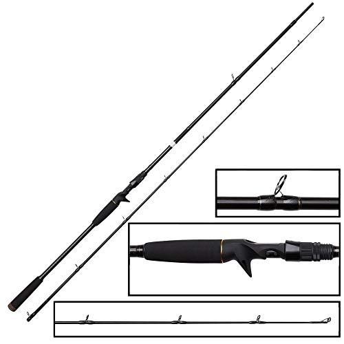 Savage Gear 221 cm, 50-100 g SG2 Power Game Trigger - Caña de pescar para lucios y peces depredadores para cebo blando y duro, caña de pescar para pesca de spinning en lucio