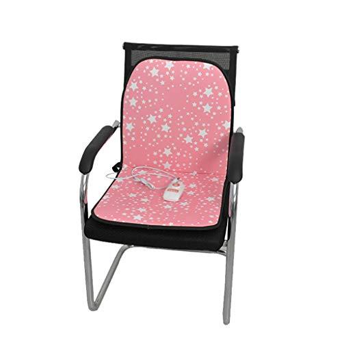 OCYE Zitkussen voor bureaustoel met temperatuurregelaar, 45 minuten timer,Warm Zacht Thuis Kantoor Stoel Elektrische Verwarming Kussen