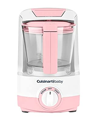 Cuisinart BFM-1000PK Baby Food Maker and Bottle Warmer, Pink
