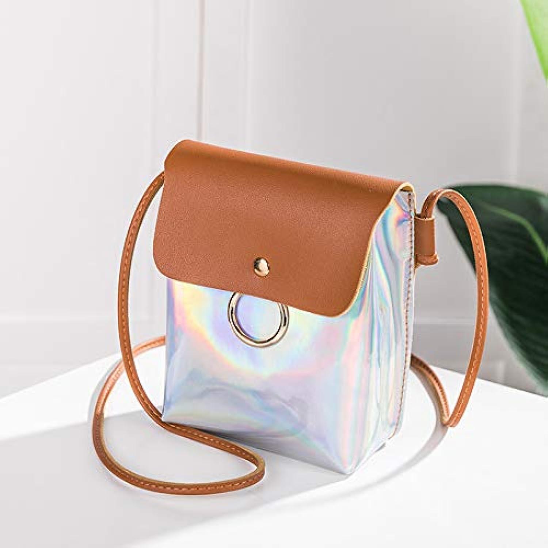 GSYDXKB Abend Party Tasche Cocktail Party Perle Tasche Contrast color Mobile Phone Bag Laser Messenger Bag Ladies Mini Shoulder Bag Handbag