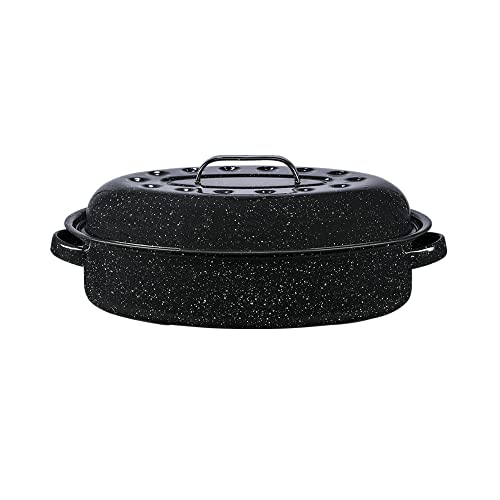 Granite Ware 15-Inch Covered Oval Roaster