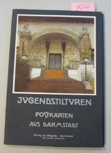 Jugendstiltüren. Postkarten aus Darmstadt. 12 Postkarten in Kartonmappe.