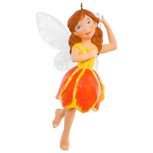 Hallmark Keepsake Fairy Messengers #12 Tulip Fairy Holiday Ornament