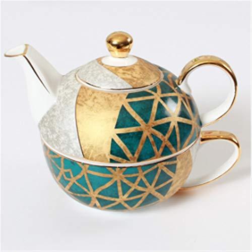 Cast Iron teapot Set Teapot Cup Saucer Set Ceramic Teapot Set Teapot and Cup Saucer and Saucer for Christmas and Birthday Gift Kitchen Hotel, Restaurant