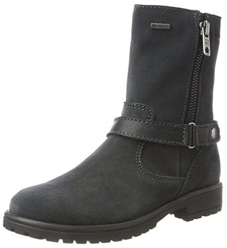 Superfit Superfit Mädchen Galaxy Biker Boots, Grau (Charcoal), 32 EU