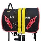 Juego completo de sillín de caballo con arnés para montar de caballo, accesorios para montar ecuestre Cross Country Western Endurance Sillín de carreras