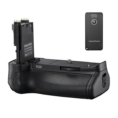 Walimex Pro Batteriehandgriff (inkl. Infrarot Fernbedienung, geeignet für Canon 5D MarkIII)