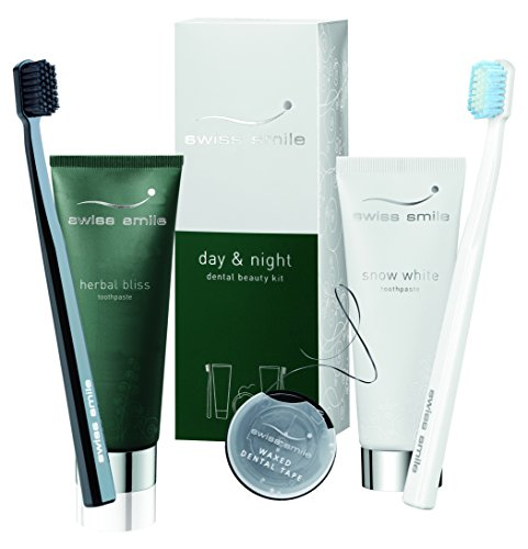 Swiss Smile Day & Night Dental Beauty Kit, 150 ml