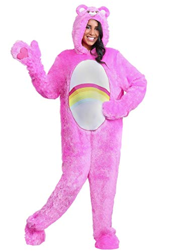 Care Bears Adult Classic Cheer Bear Fancy Dress Costume X-Large