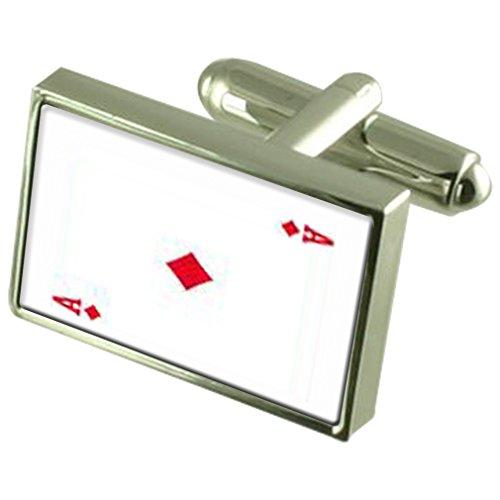 Jouer Diamond Card Ace de manchette avec poche