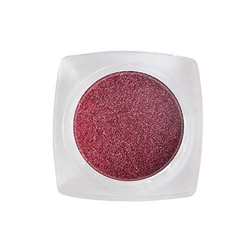Soins Pour Les Ongles, Lenfesh Nouvelle Poudre à Ongles Neon Mirror Glitter Effet Mirror Rainbow Crystal Opal
