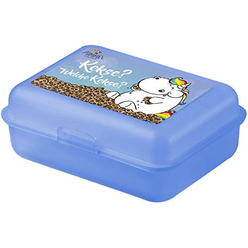 Pummeleinhorn - Brotdose Schule Reise Lunchbox Kekse?