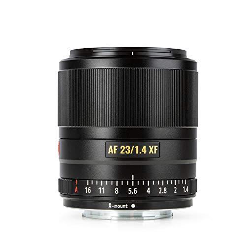 VILTROX 23mm f1.4 XF Autofokus Prime Objektiv APS-C Kompaktobjektiv mit großer Blende für Fujifilm X-Mount-Kamera X-T3 X-H1 X20 T30 X-T20 X-T100 X-Pro2