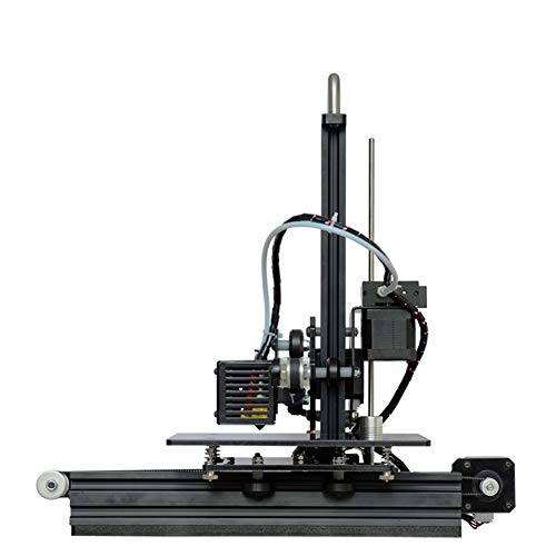 LINDANIG Imprimante 3D DIY Kit Haute précision en Aluminium de Bureau Profil Machine 3D (Couleur : Noir)
