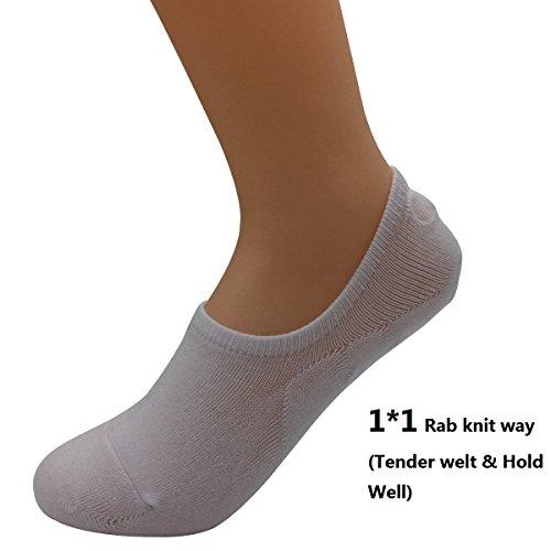 Chaussettes antibactériennes pour homme et femme - Blanc - Taille Unique