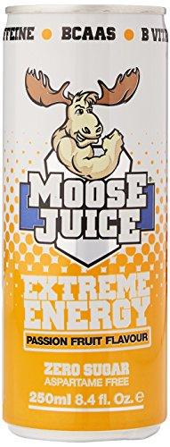Moose Juice Extreme Energy – Passion Fruit (12 x 250ml)