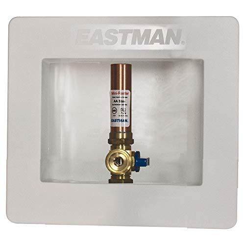 Eastman 60241, caixa de saída de gelatina branca com fixadores de martelo, suor de 1,27 cm, conexão de 1,27 cm