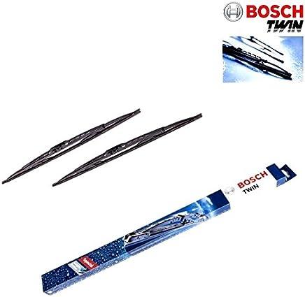 Bosch 601s Twin Discos Juego de limpiacristales para limpiaparabrisas con spoiler