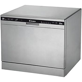 Bon état Bomann TSG 708 table Lave-vaisselle Blanc 6 maßgedecke 5 programmes Compact EEK