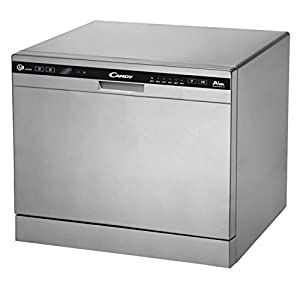 Candy cdcp 8/E-S Own Money Safe – Dishwasher Safe (8places A + B, A +, COMPACT, Silver, Buttons)