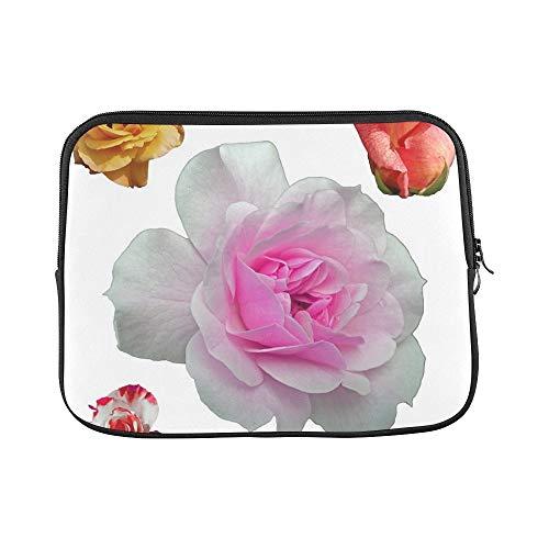 Design Custom Plants Nature Botanical Botany Flower Floral Sleeve Soft Laptop Case Bag Pouch Skin for MacBook Air 11'(2 Sides)