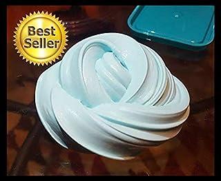 3oz - Blue Butter Slime - Soft, Squishy, Spreadable Handmade Slime - ASMR - Homemade in USA by Savv.Slimes