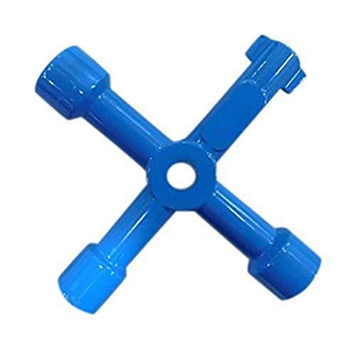 Silverline MS134 Universal-Kreuzschlüssel für Schaltschränke 70 mm