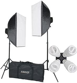 StudioFX 1600 WATT H9004S Digital Photography Continuous Softbox Lighting Studio Video Portrait Kit H9004S