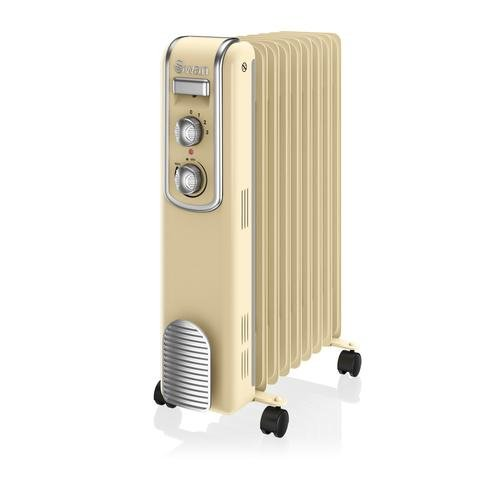 Swan SH60010CN 9 Fin Retro Oil Filled Radiator