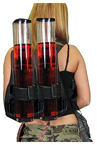 GAODINGD dispensador de Cerveza,Grifo Cerveza Cerveza Bebida Torre Mochila Tipo Bebida Cerveza Máquina Cerveza Doble Barril Torre de Vino Dispensador de Vino al Aire Libre Montañismo Bebida Mochila