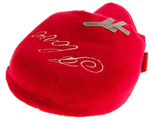 Footwear Studio Nouveauté Mule Pantoufle Femmes EU 40-41 Coeur Rouge Amour