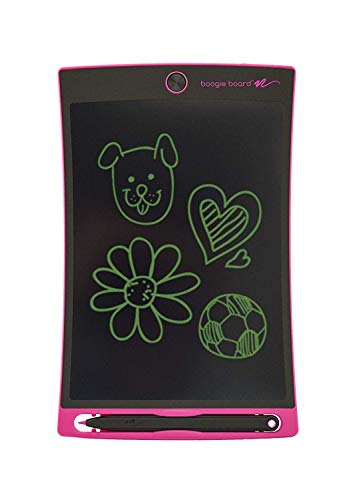 Boogie Board Pink Jot 8.5 LCD Writing Tablet - Authentic Boogie Board that Includes eWriter & Stylus Pen