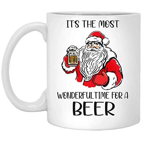 N\A Es el Momento más Maravilloso para una Jarra de Cerveza Blanca 01_10 MUG 11oz