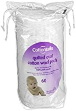 Cottontails Oval Cotton Wool Pads 60's [Baby Product] [Baby Product]