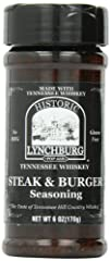Sugar Free No MSG Made with Jack Daniel's Black Label Whiskey Makes Mouthwatering Steaks & Burgers