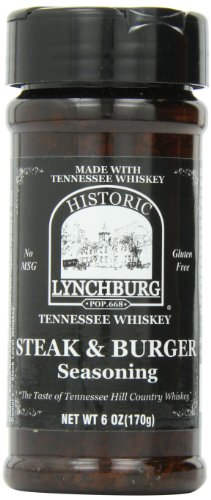Historic Lynchburg Tennessee Whiskey Steak & Burger Seasoning - 1 Pack