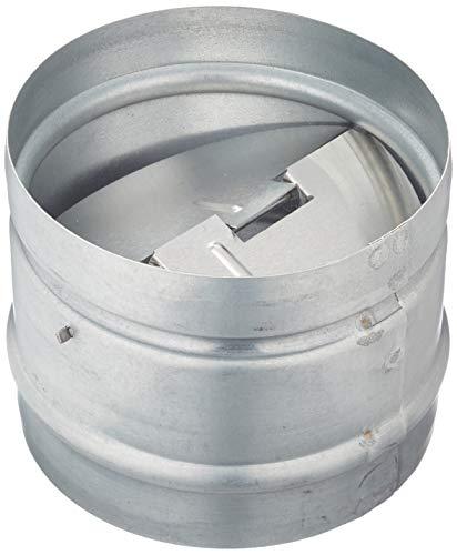 Blauberg UK - Amortiguador obturador antirretorno integrado para rejilla de ventilación, muy resistente, 100 mm