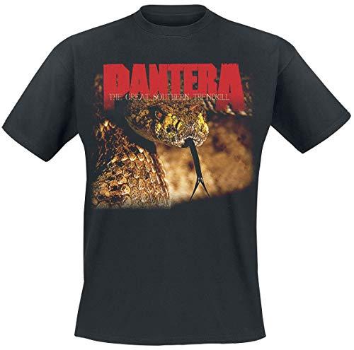 PANTERA The Great Southern Trendkill Männer T-Shirt schwarz L 100% Baumwolle Band-Merch, Bands