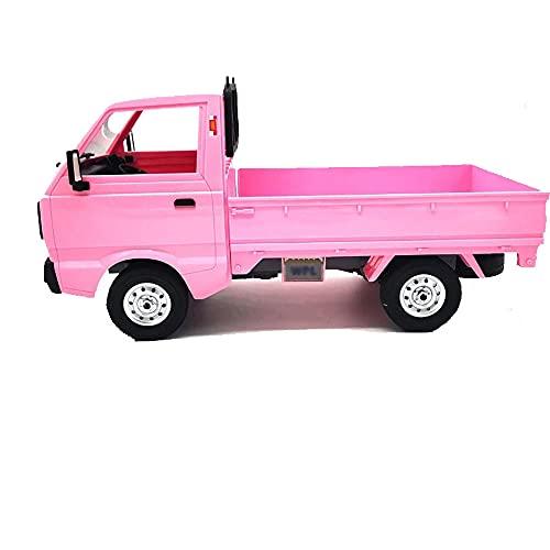 UJIKHSD Simulación De Camioneta Pickup A Escala Completa 1:10 2WD Pequeño Camión RC Modelo Eléctrico En Miniatura Coche Chasis Antivibración Exterior RC Coche De Escalada Niño Coche De Juguete Regalos