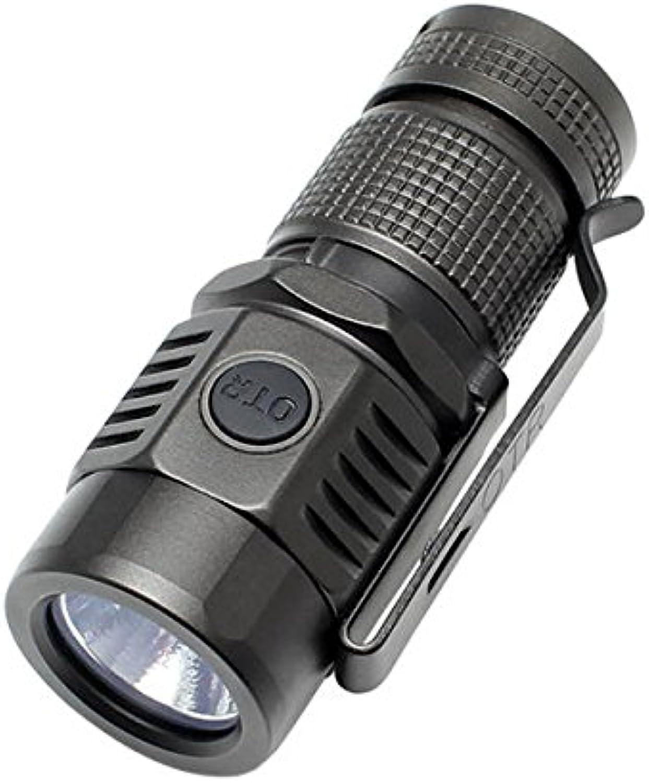 Bazaar On The Road U16 XP-L V6 1A 1020LM USB wiederaufladbare Mini EDC LED Taschenlampe
