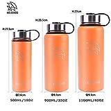Zoom IMG-2 koliendo bottiglia d acqua acciaio